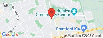 Google Map of 487+Park+Road+North%2CBrantford%2COntario+N3R+7K8