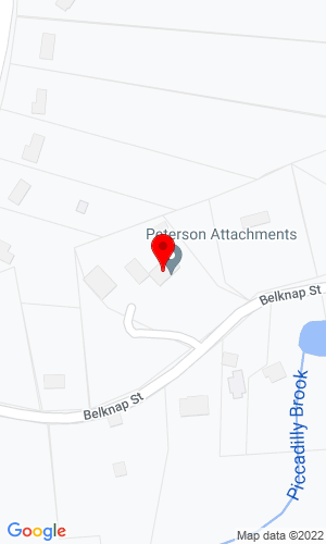 Google Map of Peterson Attachments 49 Belknap St , Westborough , MA, 01581