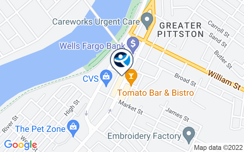 Wyoming Valley Alcohol and Drug Services - Pittston Location and Directions
