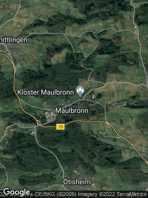Google Map of Maulbronn