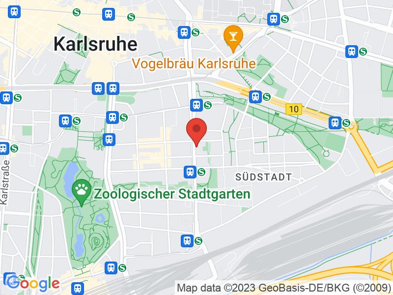 Map of Haus der Innungen