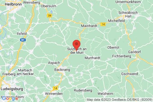 Karte Sulzbach an der Murr