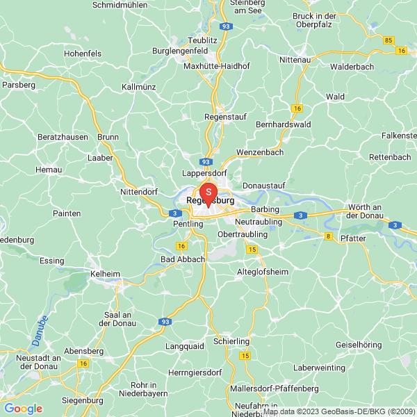 Disc Golf-Anlage Regensburg Disc Golf-Parcours Uni