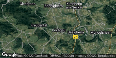 Google Map of Löchgau