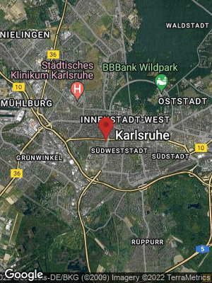 Google Map of Innenstadt