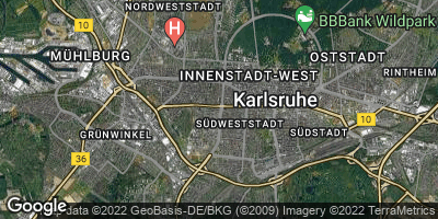 Google Map of Rüppurr