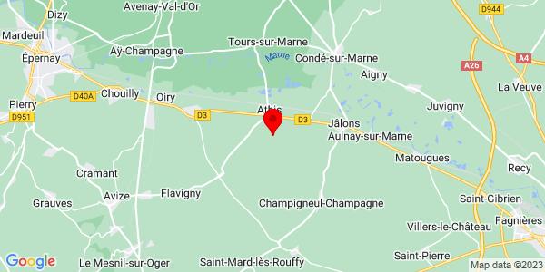 Google Map of 49.0047358,4.1309134