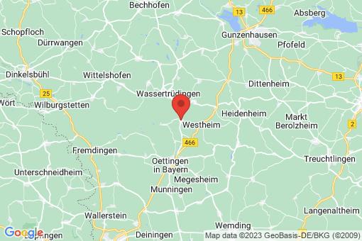 Karte Auhausen