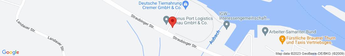 BayWa Agrar Regensburg-Osthafen Anfahrt