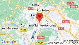 Carte de localisation du centre de contrôle technique CONFLANS SAINTE HONORINE