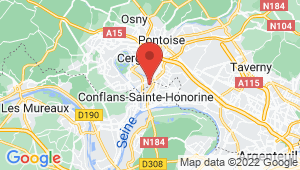 Carte de localisation du centre de contrôle technique CONFLANS STE HONORINE