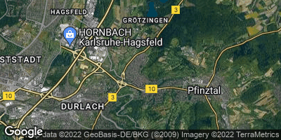 Google Map of Grötzingen