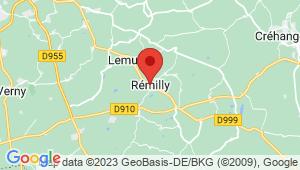 Carte de localisation du centre de contrôle technique REMILLY