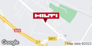 Get directions to Espace Hilti - La Plateforme du Bâtiment - Pierrelaye