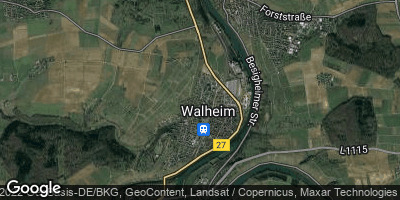 Google Map of Walheim