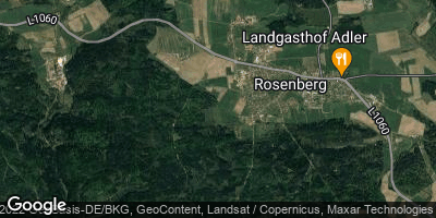 Google Map of Rosenberg