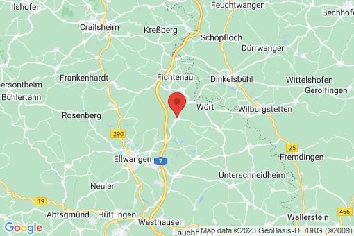 Karte Ellenberg