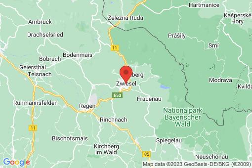 Karte Zwiesel