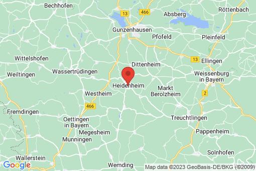 Karte Heidenheim