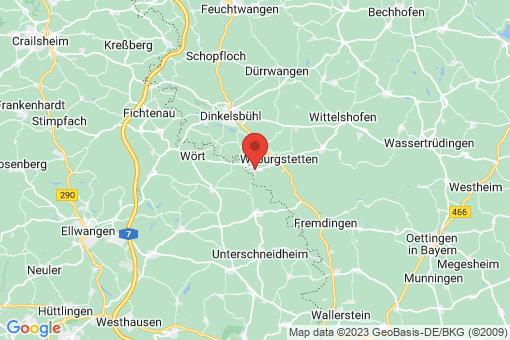 Karte Mönchsroth