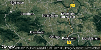 Google Map of Erligheim