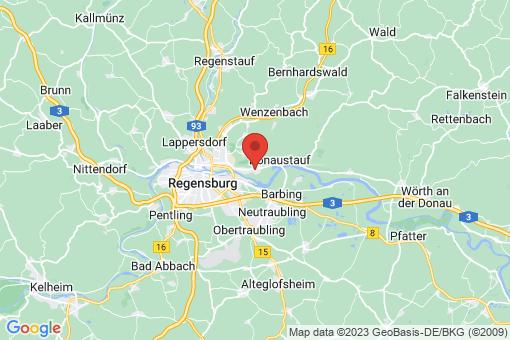 Karte Tegernheim