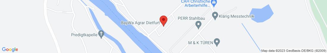 BayWa Agrar Dietfurt-Hafen Anfahrt