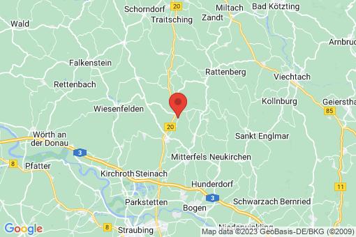 Karte Rattiszell