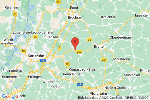 Karte Walzbachtal