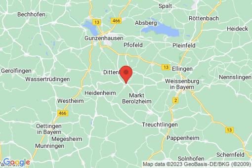 Karte Meinheim