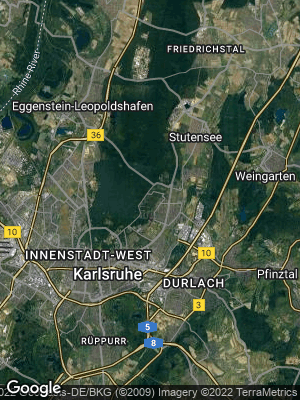 Google Map of Waldstadt