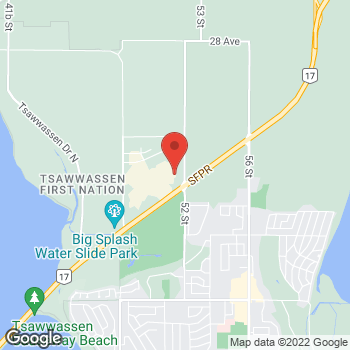 Map of Bass Pro Shops at 5000 Canoe Pass Way, Tsawwassen, BC V4M0B3