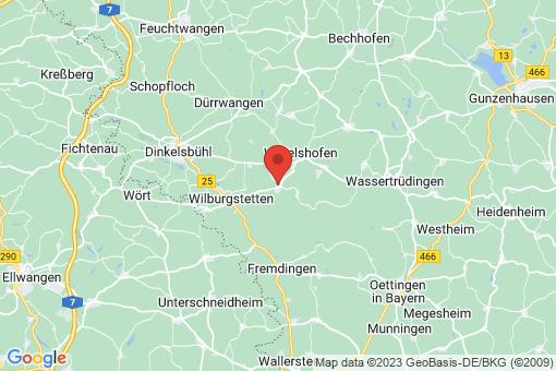 Karte Weiltingen