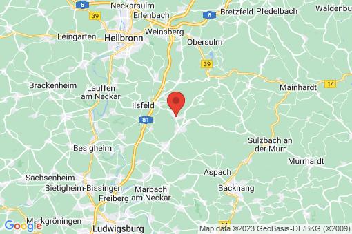 Karte Beilstein
