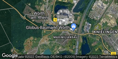 Google Map of Maximiliansau