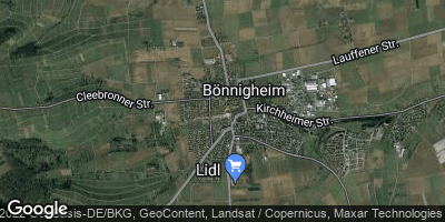 Google Map of Bönnigheim
