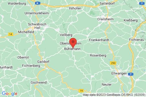 Karte Bühlertann