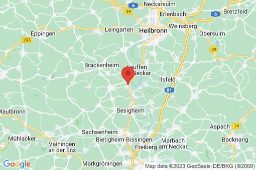 Karte Kirchheim am Neckar