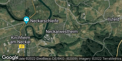 Google Map of Neckarwestheim