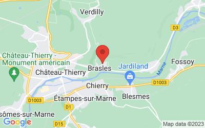 Rue Aristide Briand, 02400 Brasles, France