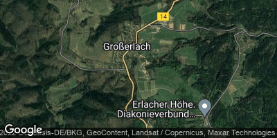 Google Map of Großerlach