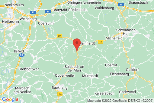 Karte Großerlach