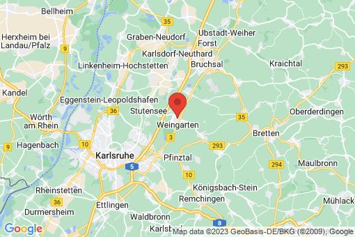 Karte Weingarten