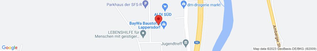 BayWa Technik Lappersdorf Anfahrt