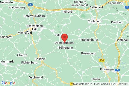 Karte Obersontheim
