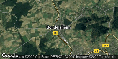 Google Map of Gondelsheim