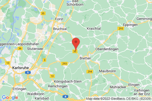 Karte Gondelsheim
