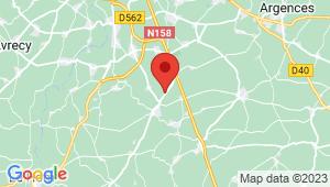 Carte de localisation du centre de contrôle technique BRETTEVILLE SUR LAIZE