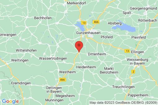 Karte Gnotzheim