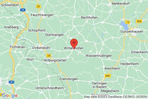 Karte Wittelshofen